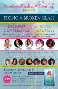 Calling all Women to join us on September 9th for healing, deliverance and a new found freedom to walk into your purpose and calling!